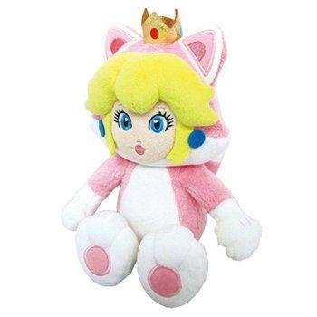 CAT PEACH Direttamente da Super Mario 3D World, un morbidissimo peluche da 22 cm dalla Principessa Peach con la scattante Tuta Gatto. Finiture di qualità, licenza ufficiale Nintendo. - Maggiori dettagli: http://www.thegameshop.it/it/peluche/555-nintendo-cat-peach-plush-22cm-3700789291817.html#sthash.LRCAWcmM.dpuf