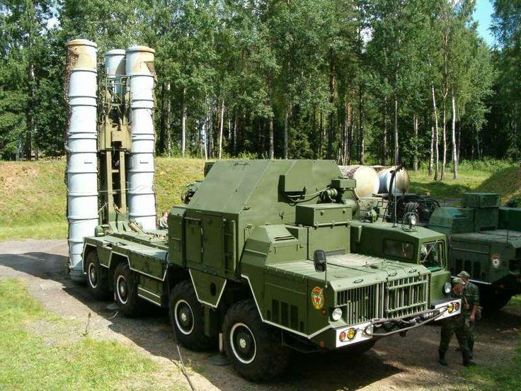 В Витебской области заступил на дежурство российский комплекс С-300