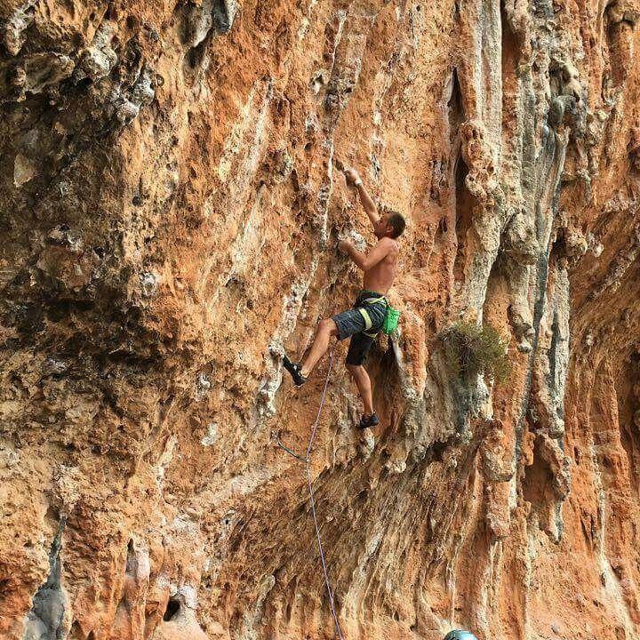 Climbing 😉 In Leonidio, Greece 😀