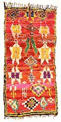 Marokkaanse Berber tapijt Boucherouite 270 x 130 cm