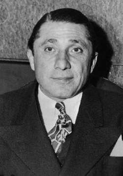 "MARCH 19, 1943 - ""Francesco Raffaele Nitto (January 27, 1886 – March 19, 1943), also known as Frank ""The Enforcer"" Nitti, was an Italian American gangster. One of Al Capone's top henchmen, Nitti was in charge of all strong-arm and 'muscle' operations. Nitti was later the front-man for the Chicago Outfit, the organized crime syndicate headed by Capone."" Read more: http://en.wikipedia.org/wiki/Frank_Nitti"