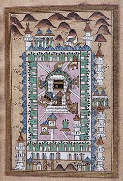 Old mapof Mecca. This Day in History: Jul 16, 622: The beginning of the Islamic calendar.