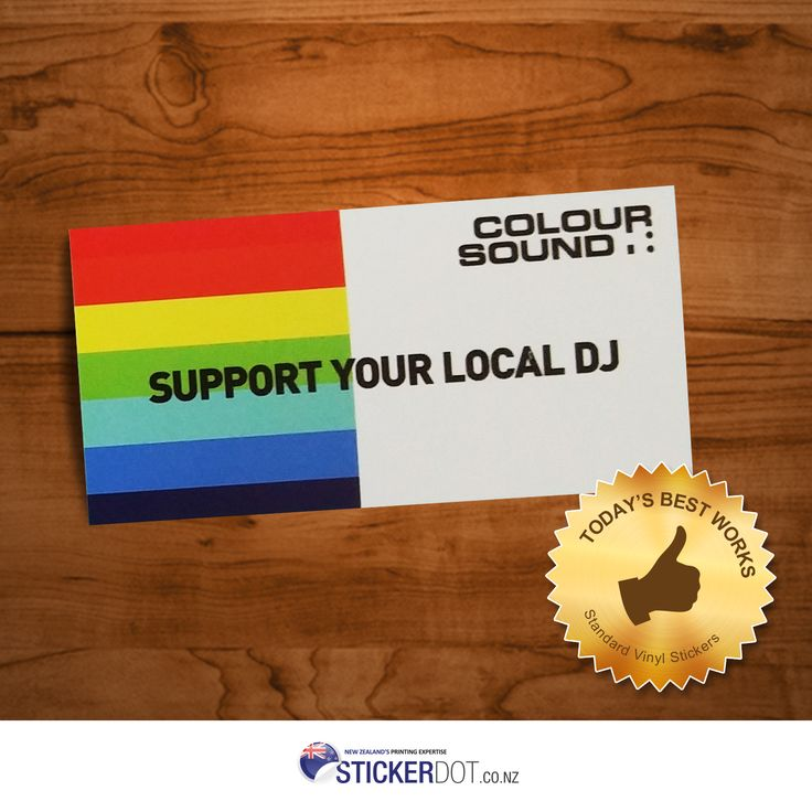 Definitely high-quality Standard #VinylStickers & excellent customer service only @stickerdot! Get this for as low as $64 only. #labels #NZ