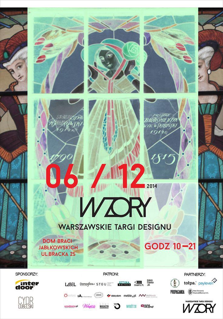 WZORY - kolejna edycja Warszawskich Targów Designu. Gdzie: Dom Towarowy Braci Jabłkowskich. Kiedy: 6.12.2014. Młodzi, polscy projektanci! Design, wzornictwo, prezenty.