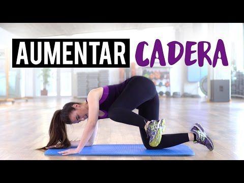 Ejercicios para aumentar cadera y tonificar el abdomen - YouTube