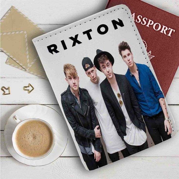 Rixton Band Leather Passport Wallet Case Cover