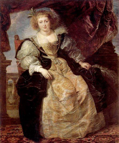 Питер Пауль Рубенс . Портрет Елены Фоурмен в свадебном одеянии. Около 1630-1631.