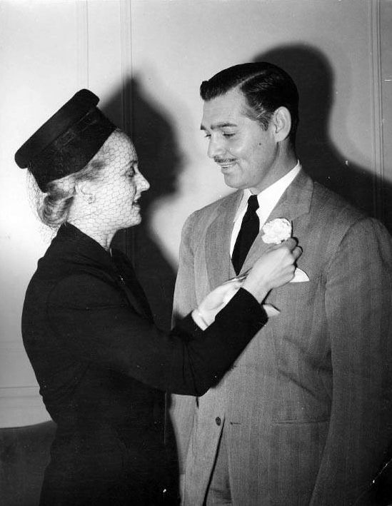 Clark Gable and Carole Lombard - Loved them both. She died at age 33 shortly after this photo was taken....and he enlisted in the Army Air Corps to serve his country in WWII.