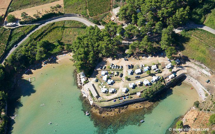 Discover Grebišća beach on the island of Hvar...  www.visit-hvar.com/destinations/jelsa/grebisce