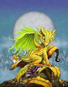 Corn Dragon by Stanley Morrison