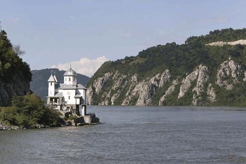 Iron Gates - Porte di Ferro sul Danubio