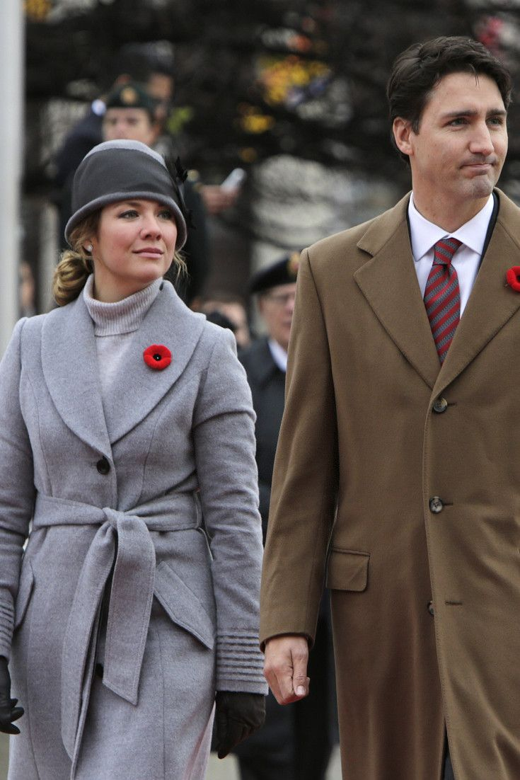 Justin Trudeau And Sophie Grégoire-Trudeau Pose In New Vogue Spread