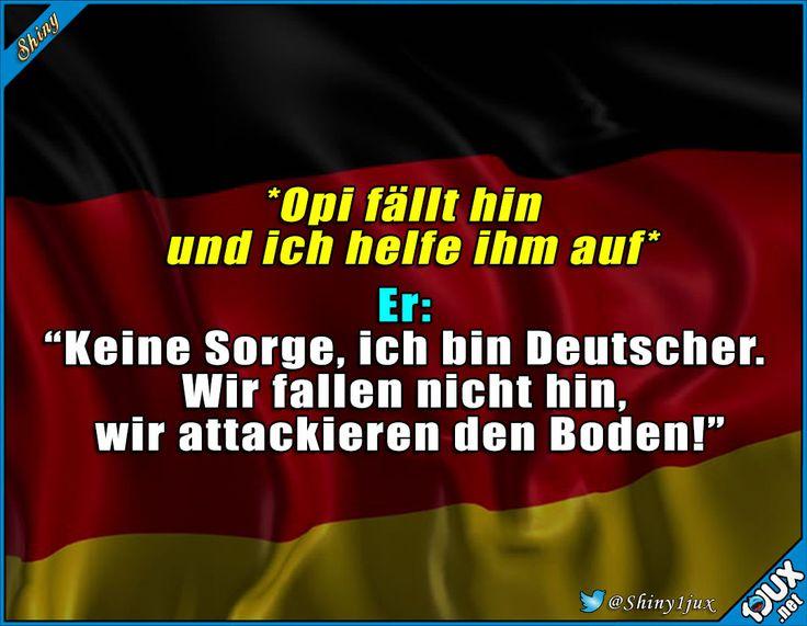 Opi ist gut drauf :) #Deutsch #Deutschland #lustig #Humor #Sprüche #lachen