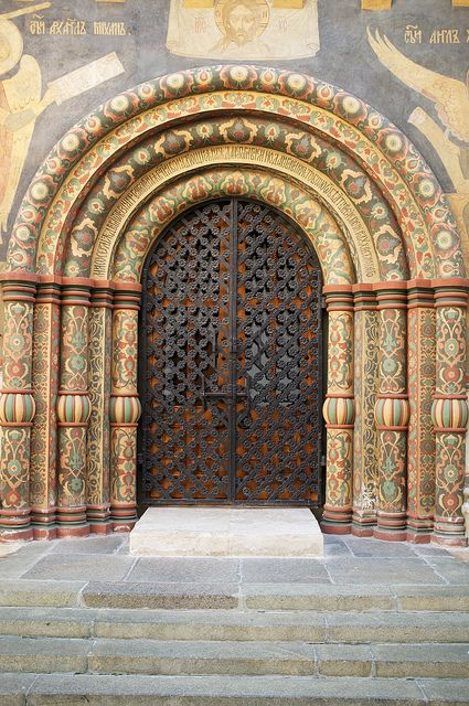Assumption Cathedral door Kremlin by (mick) on Flickr. & 113 best Cathedral Doors ~ so beautiful! images on Pinterest ...