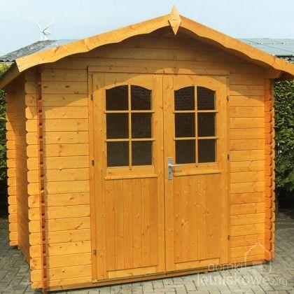 Drewniany domek ogrodowy (Wooden house) Hoby Ebro 2 7,8 m2