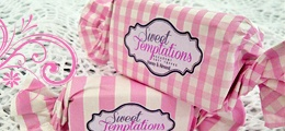 Pink Baby Gingham and candy stripes - By Anelle Mostert