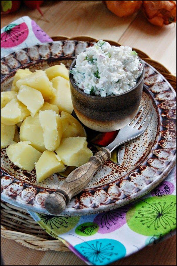 W garze mieszane: Gzik z ziemniakami