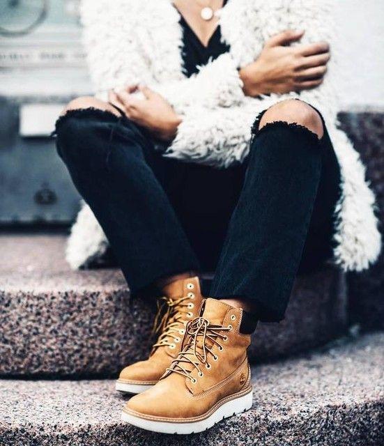 4a95338100 Women's Kenniston 6-Inch Sneaker Boots | timberlands | Timberland boots  outfit, Timberland outfits, Timberland boots women