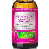 Vitamin C Serum for Face with Hyaluronic Acid, 20% C + E Professional Topical Facial Skin Care Helps Repair Sun Damage, Fade Age Spots, Dark Circles, Wrinkles & Fine Lines BEST ORGANIC - 1 oz. - http://livelongerwithtony.com/vitamin-c-serum-for-face-with-hyaluronic-acid-20-c-e-professional-topical-facial-skin-care-helps-repair-sun-damage-fade-age-spots-dark-circles-wrinkles-fine-lines-best-organic-1-oz/