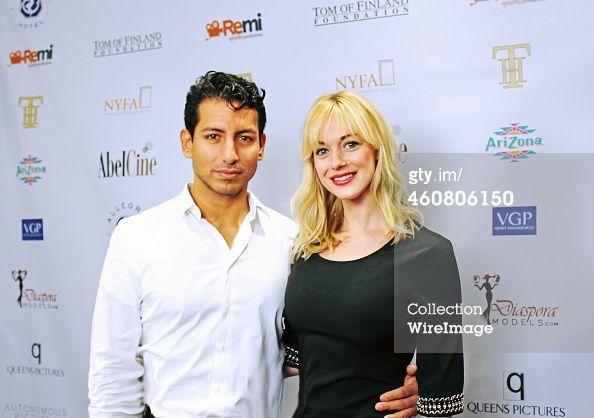 "Alex Kruz, Ashley Blankenship @NYC Premiere - ""Tom in America"""