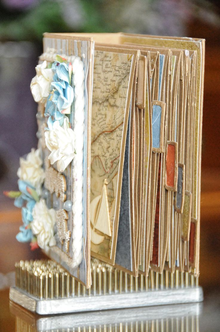 ScrapBerry's: Antique Shop Mini Album with the pocket pages by Lisa Nazario-Gregory