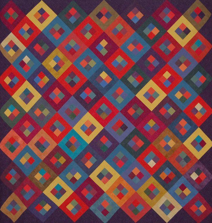 7617 besten Gorgeous Quilts Bilder auf Pinterest | Quiltmuster ...