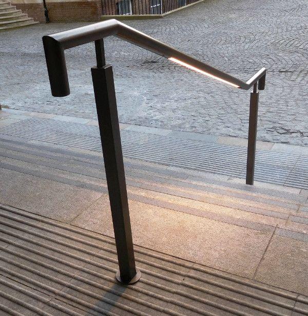 Kent LED Handrail at Thomas More Square London