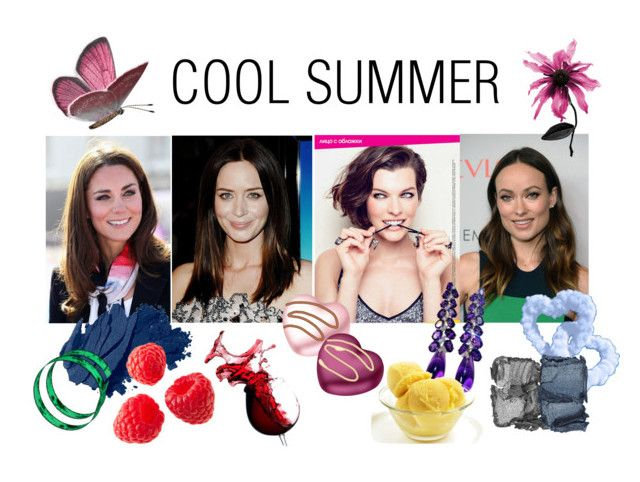 """COOL SUMMER"" by stylist-vera on Polyvore featuring Bobbi Brown Cosmetics, Millà, NARS Cosmetics, Summer, summerstyle, coloranalysis, truesummer and type2"