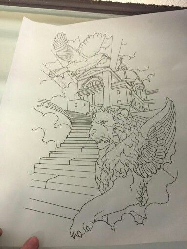 Stairway to heaven, Drawings of and To heaven on Pinterest