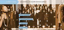 Frise historique interactive de la Francophonie - Organisation internationale de la Francophonie