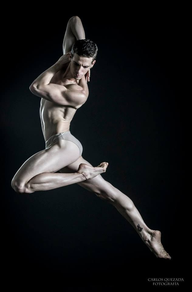 The Male Dancer Project- Fabian Morales // Cuba The Company's National Dance Photograph Carlos Quezada