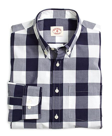 Buffalo Plaid Sport Shirt - Brooks Brothers