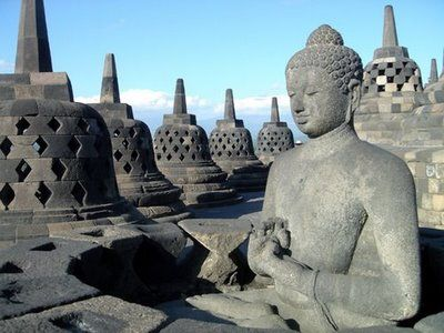 Borobudur Temple, Magelang, Central Java, Indonesia ♥