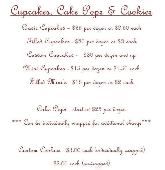 Cupcakes, Cake Pops & Cookies by Carrie's Cakery