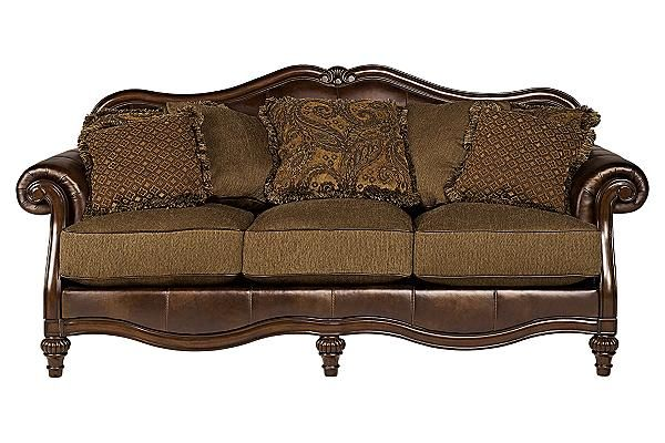 The Claremore Antique Sofa From Ashley Furniture