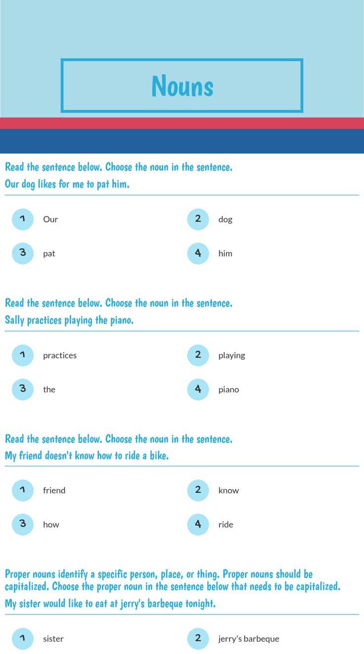 17 best Grammar worksheets on Wizer images on Pinterest   Grammar ...