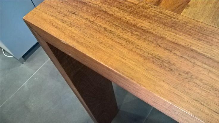 Eaton 240 x 100 display table detail one of knocks on wood