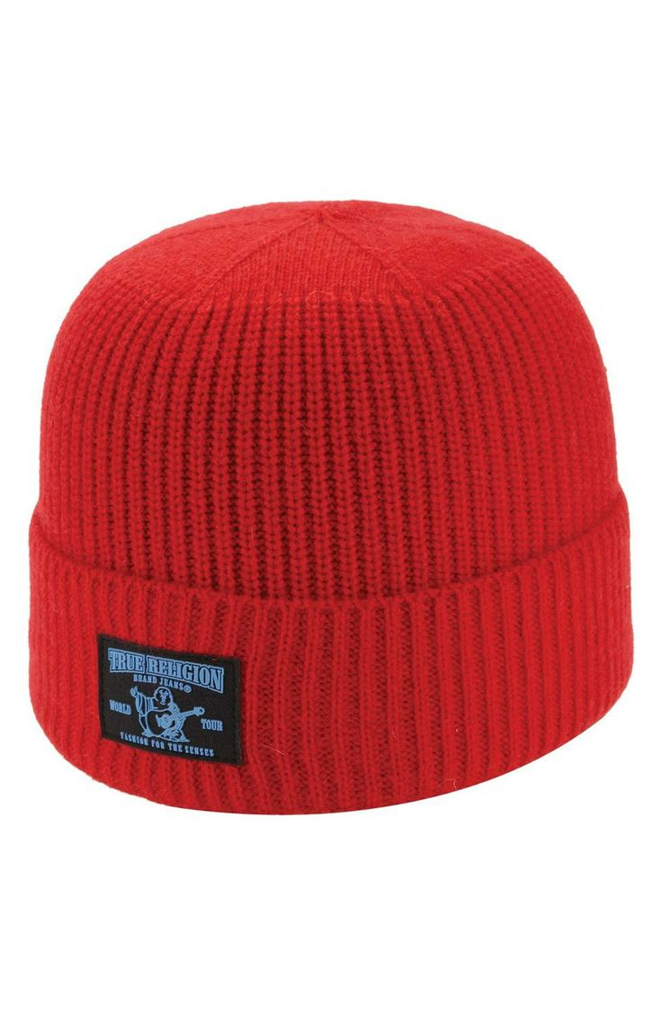 True Religion Brand Jeans Rib Knit Cap   $75   gifts for guys   guys cap   guys beanie   guys touque   menswear   mens style   mens fashion   wantering http://www.wantering.com/mens-clothing-item/true-religion-brand-jeans-rib-knit-cap/afP1p/
