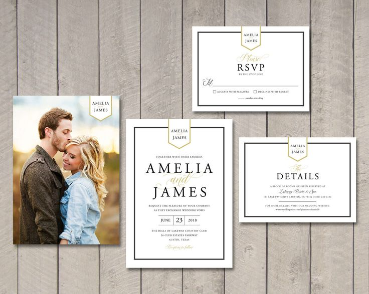 Modern Romance Wedding Invitation, RSVP, Details Card (Printable) by Vintage Sweet by vintagesweetdesign on Etsy https://www.etsy.com/ca/listing/488063371/modern-romance-wedding-invitation-rsvp