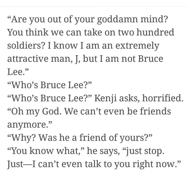 Kenji is my fave