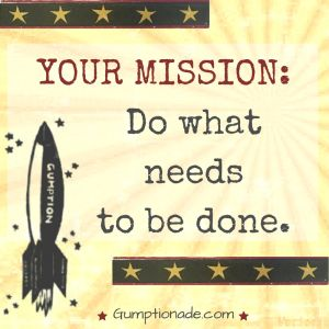 25 best gumptionade images on pinterest audiobook book authors you have a mission every day to do what needs to be done gumptionade fandeluxe Images