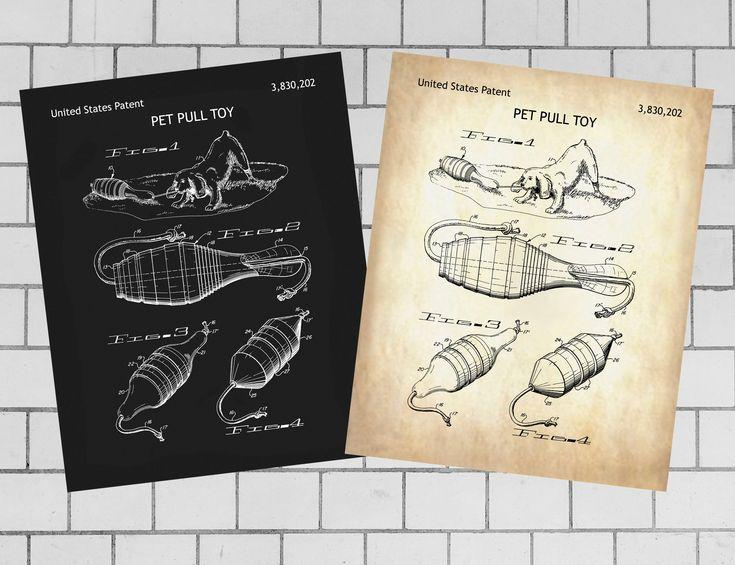 Dog toy, Pet toy, Pet suit, pet harness, device Patent Print, INSTANT DOWNLOAD, … – Patent