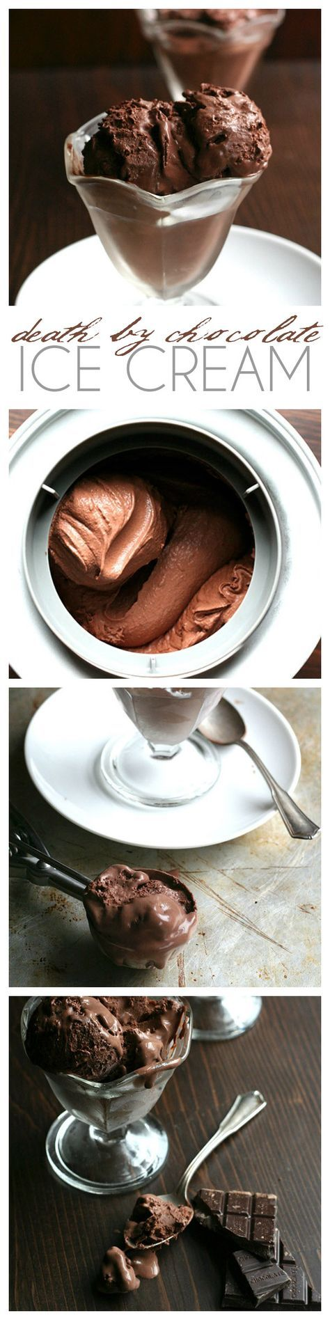 This is the best low carb chocolate ice cream recipe, hands down. For serious chocolate lovers, with rich dark chocolate flavour. No sugar and so creamy! Keto recipe