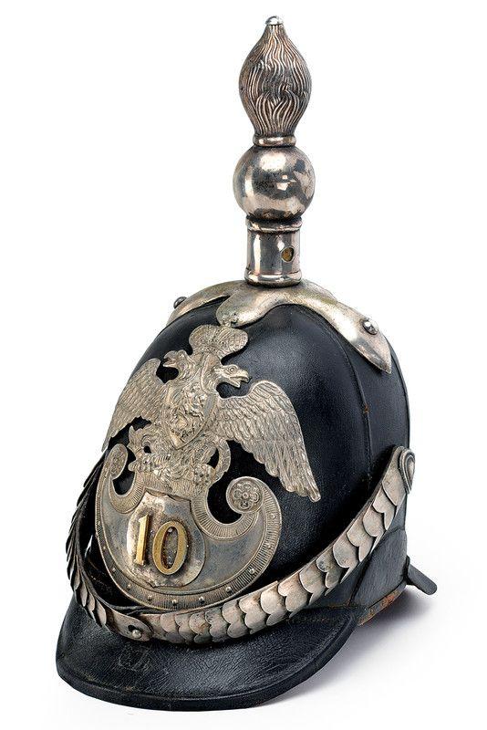 "infantry helmet ""Delle linee"" Mod. 1844, provenance: Russia dating ..."