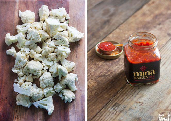 Moroccan Cauliflower Poppers {Featuring Mina Harissa Sauce} - Lexi's Clean Kitchen