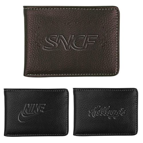 ersonalized Lamis Bi-Fold Wallets will allow your customers and clients to carry their money safely. Try Now!   #CustomWallets #FreeShip #PromotionalProducts