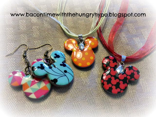 Bacon Time With The Hungry Hungry Hypo: DIY Disney Epoxy Stickers To Reversible Jewelry