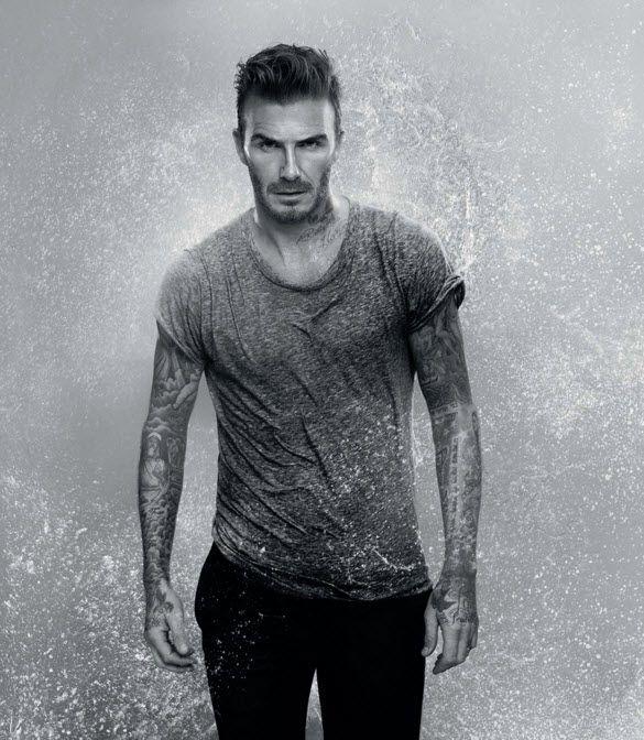 David Beckham in Biotherm Aquapower campaign