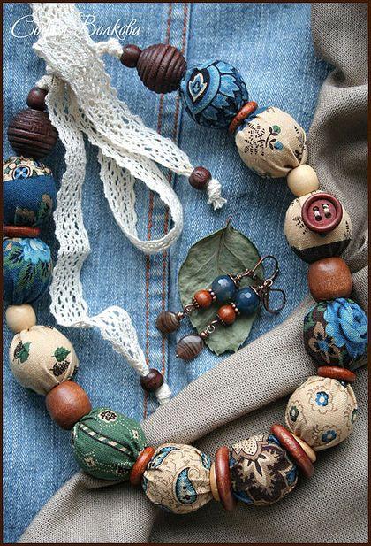 """Комплекты украшений ручной работы. Ярмарка Мастеров - ручная работа Комплект """"В старинном саду"""". Handmade."""