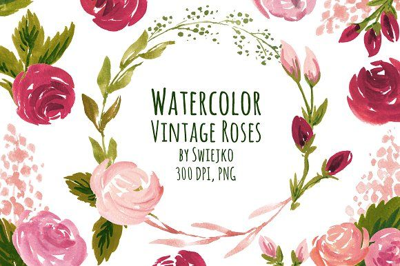 @newkoko2020 Vintage Roses by swiejko on @creativemarket #bundle #set #discout #quality #buyvintage #bulk #buy #design #trend #vintage #vintagegraphic #graphic #illustration #template #art #retro #vintagebundle